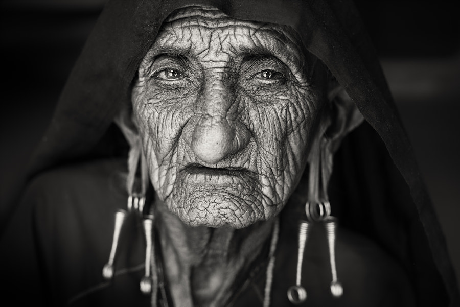 India, old Rabari woman by Dietmar Temps on 500px.com