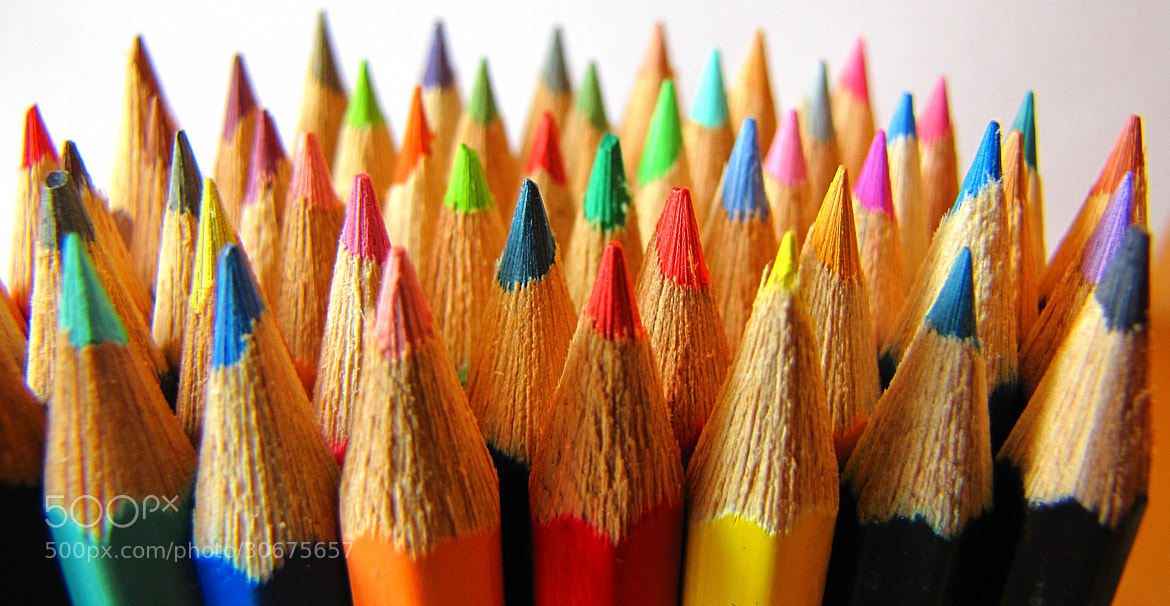 Photograph Colored pencils by Rausch Wilhelm Robert on 500px