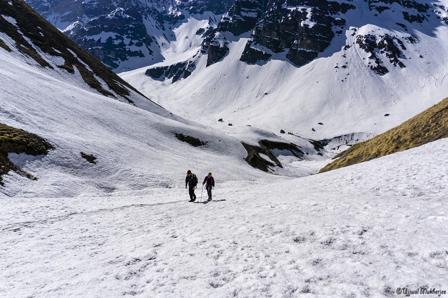 Snow trekking by Ujjwal Mukherjee on 500px.com