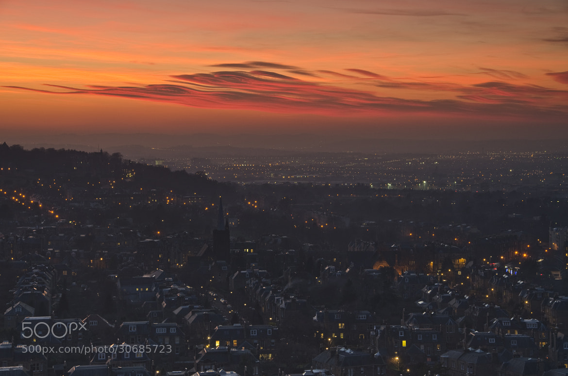 Photograph West Edinburgh Sunset by Grant Ritchie on 500px