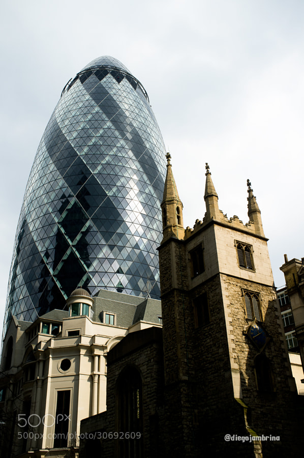Gherkin, una torre con sabor by Diego Jambrina (Elhombredemackintosh)) on 500px.com