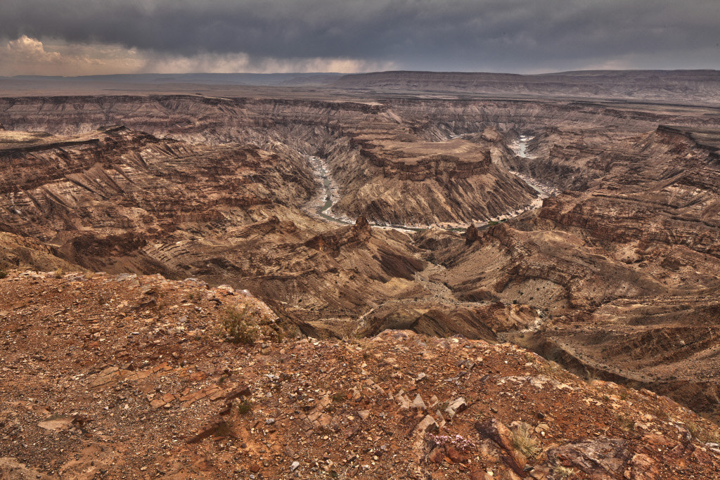 Photograph Fish River Canyon Horseshoe by Thomas Rawyler on 500px