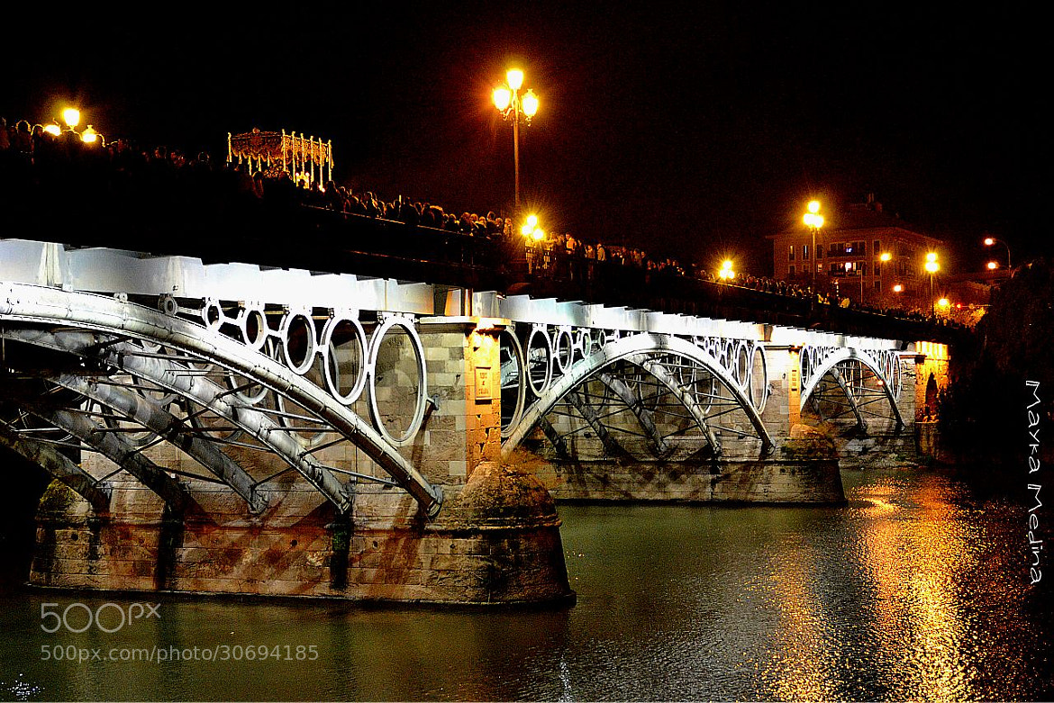 Photograph Puente Triana by Mayka Medina on 500px