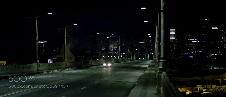 Photograph LA at night by Matt Hayslett on 500px