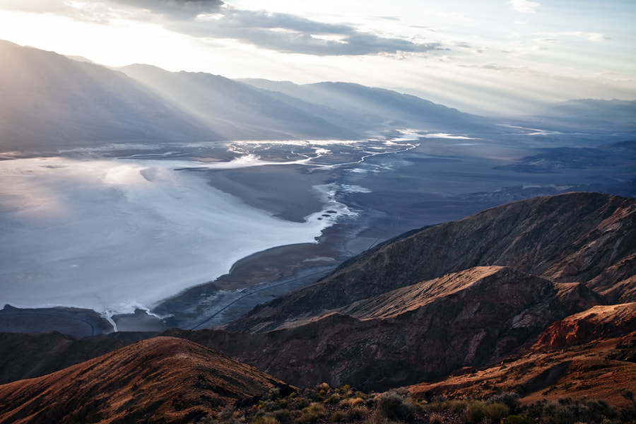 Photograph Death valley from Dante's peak by Kiko Yera on 500px