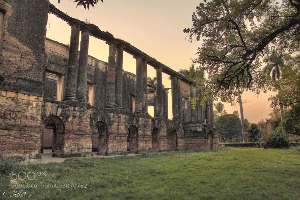 Photograph British Residency,Lucknow by Mayank Singh on 500px