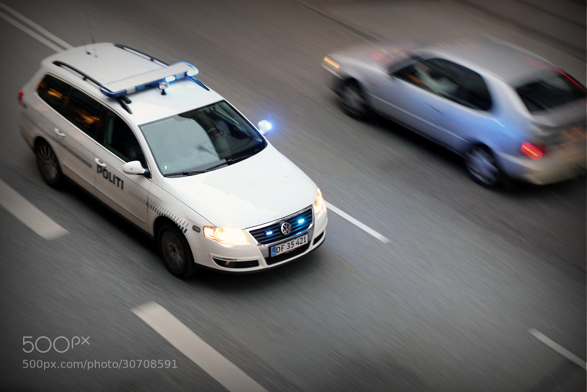 Photograph Danish police car in Copenhagen by Emil Stahl Pedersen on 500px