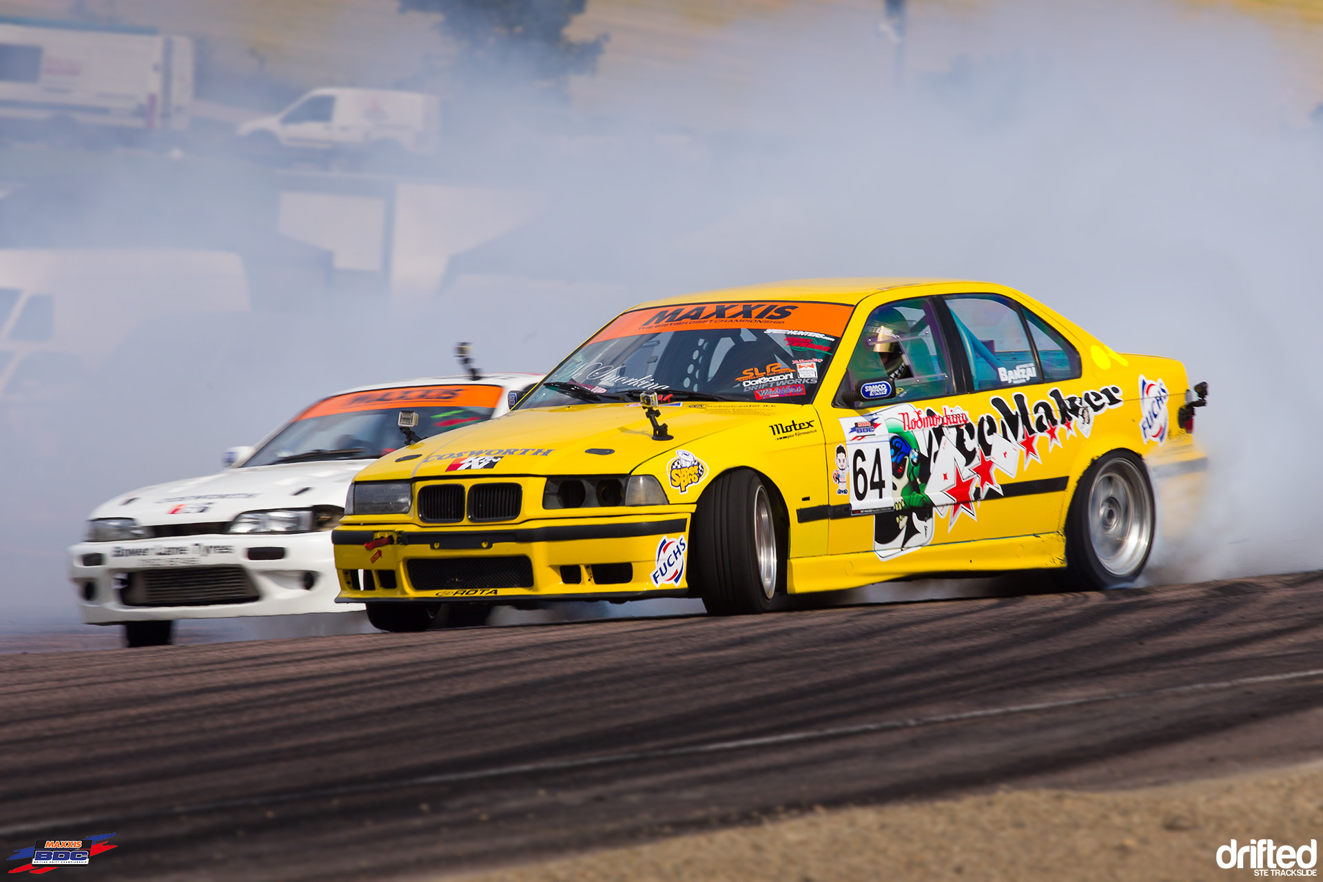 Photograph e36 Vs S14 @ BDC Lydden Hill 2012 by Ste Trackslide on 500px