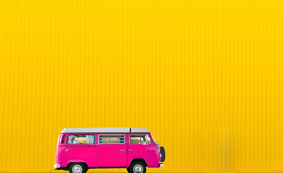 car yellow by Helena Georgiou on 500px.com