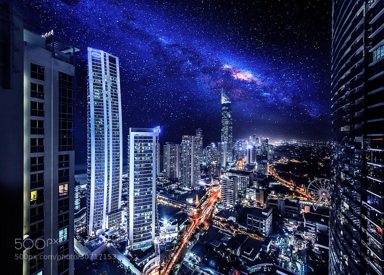 Photograph A night at Gotham city by Goff Kitsawad on 500px
