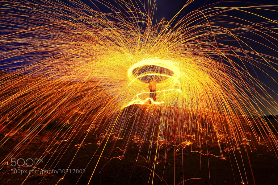 Photograph Man on Fire by Danis Suma Wijaya on 500px