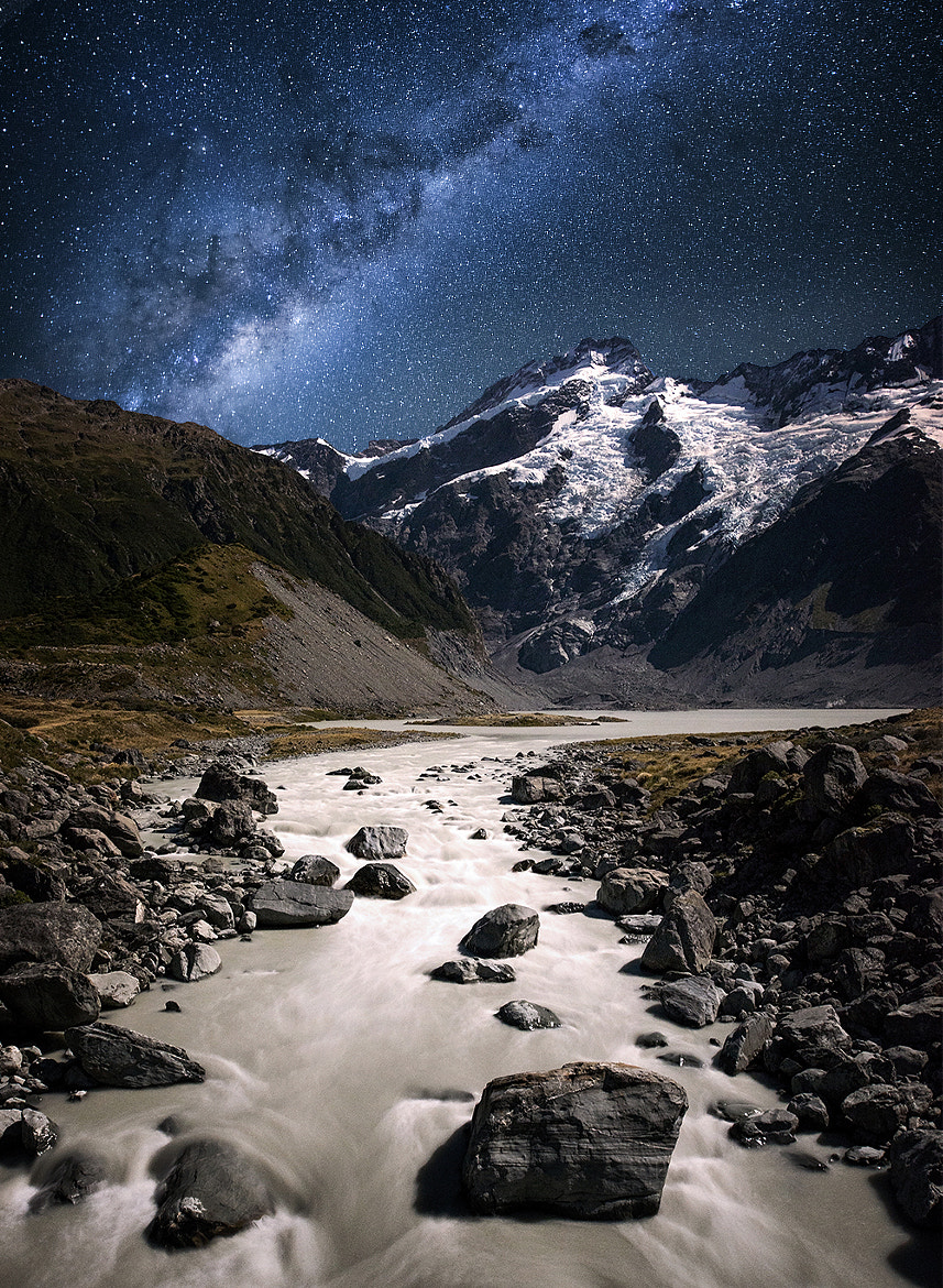 Photograph Hooker Valley by Byron Prukston on 500px