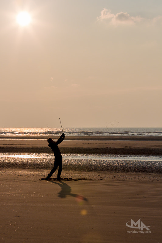 Photograph Le golfeur by Muriel Auvray on 500px