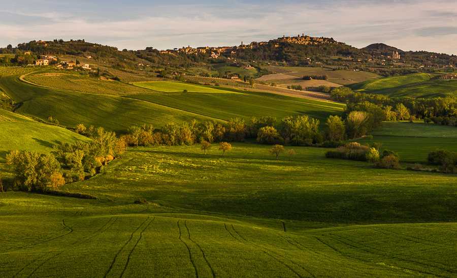 Photograph Val d'Orcia in Spring by Hans Kruse on 500px