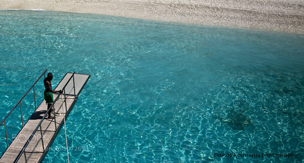 Photograph Disembarking for swim by Damianos Kounenis on 500px