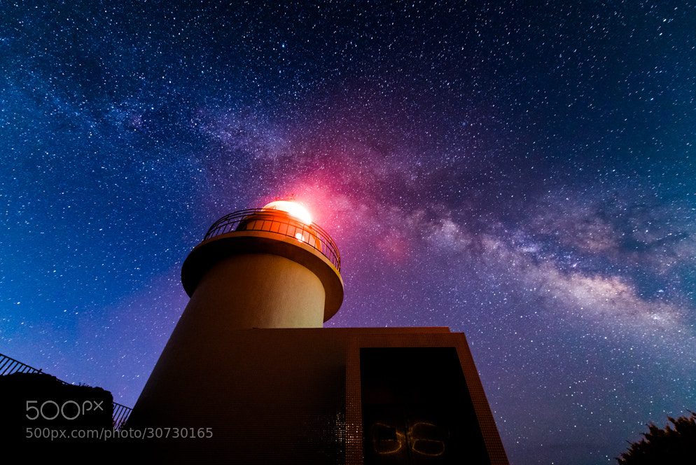 Photograph Interstellar Lighthouse by Yuga Kurita on 500px