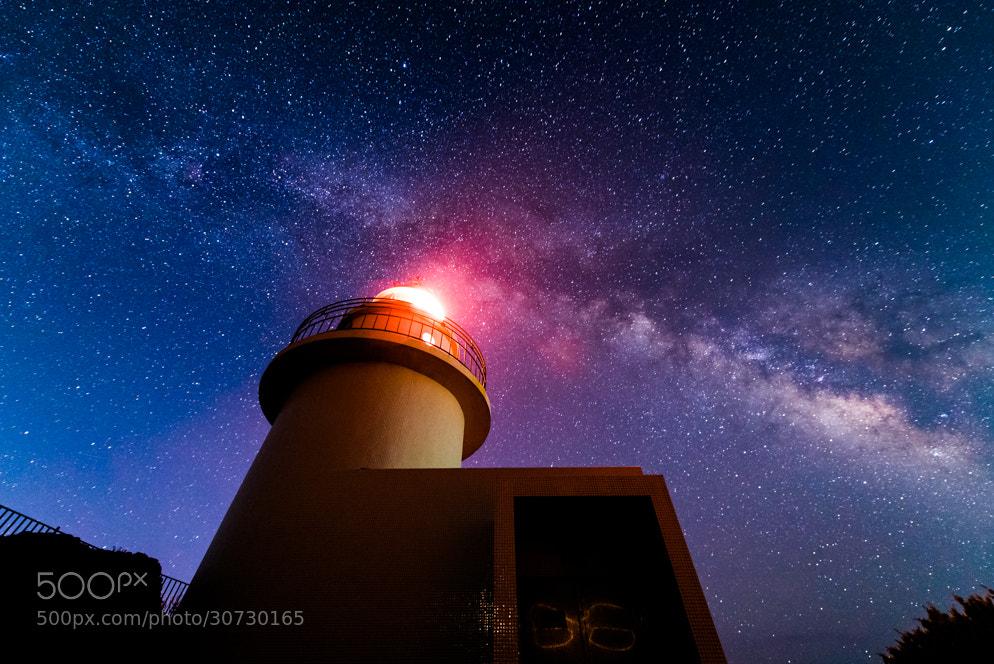 Photograph Interstellar Lighthouse by Yuga Kurita on 500px