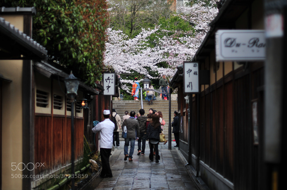 Photograph Ishibe alley(Kyoto) by Hiro _R on 500px