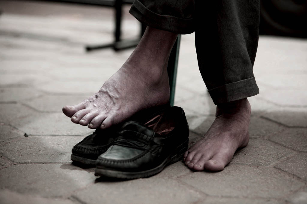Photograph Barefoot by Mohammed Al Aloul on 500px