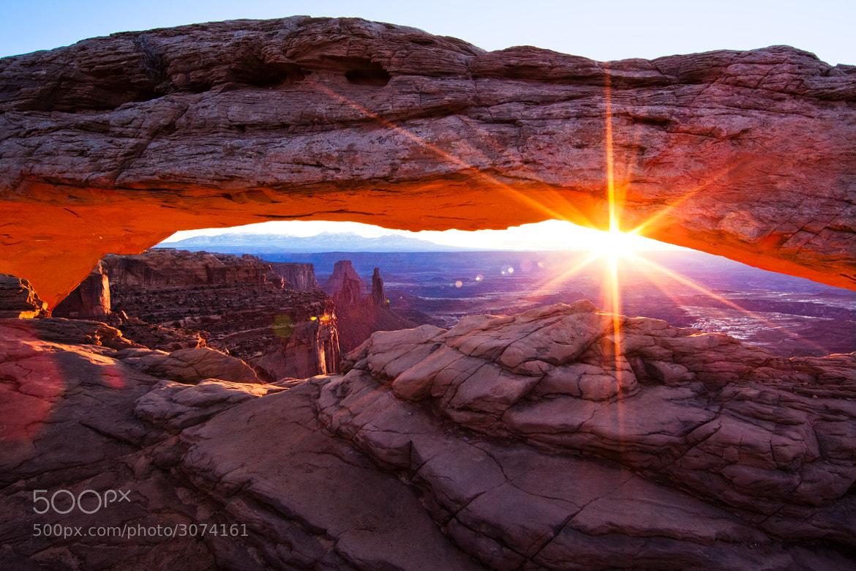 Photograph Mesa Arch by Ian Civgin on 500px