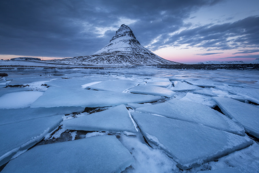 Winter at Kirkjufell by Iurie Belegurschi on 500px.com