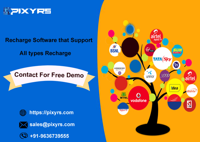All types Recharge Software Solution for recharge business