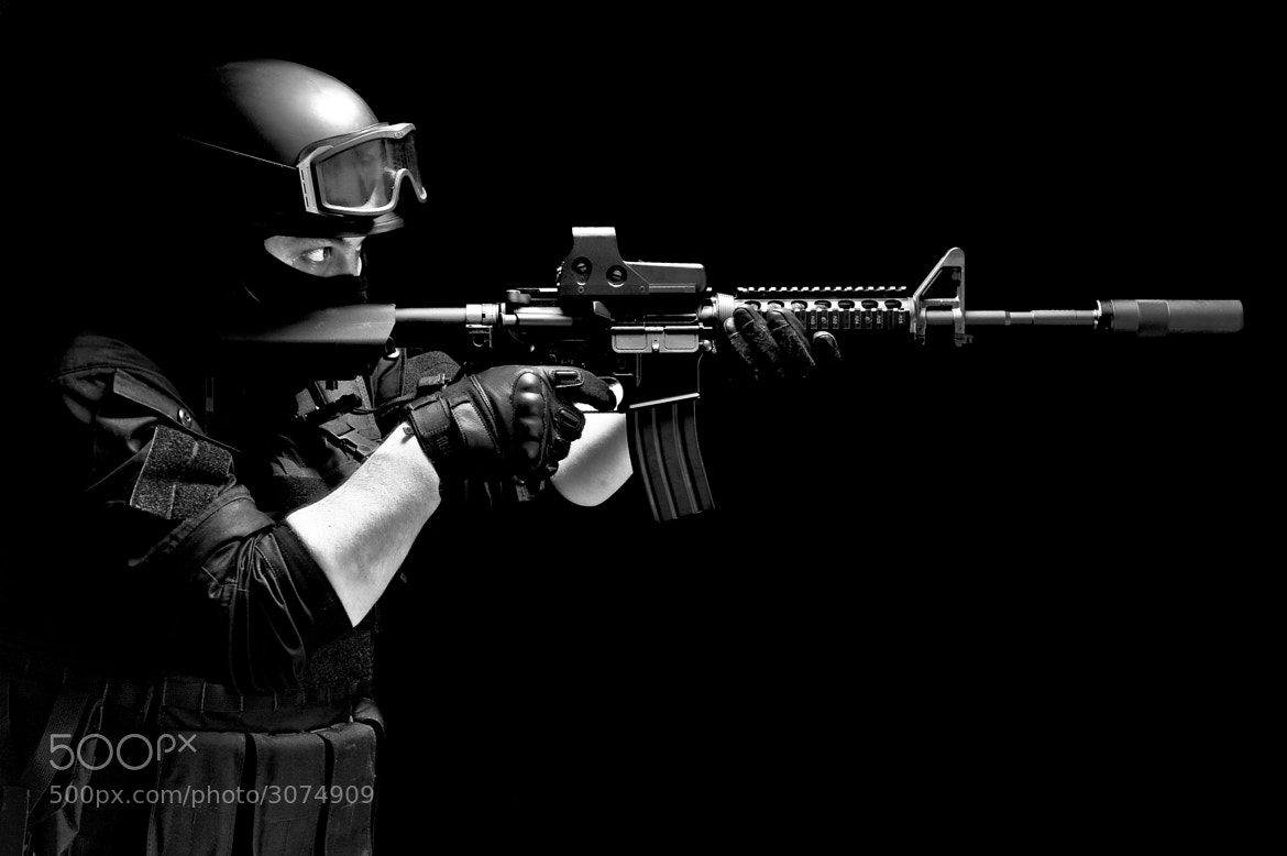Photograph SWAT by Andrius Petrucenia on 500px