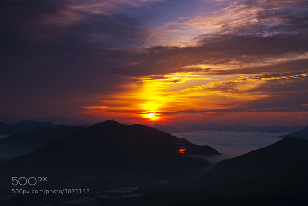 Photograph sunrise by Ju sewhan on 500px
