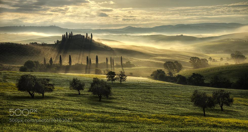 Photograph Tuscany Italy by Jiří Kejdana on 500px