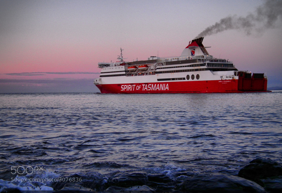 Photograph The Spirit Of Tasmania by Kyle  Rodgers on 500px