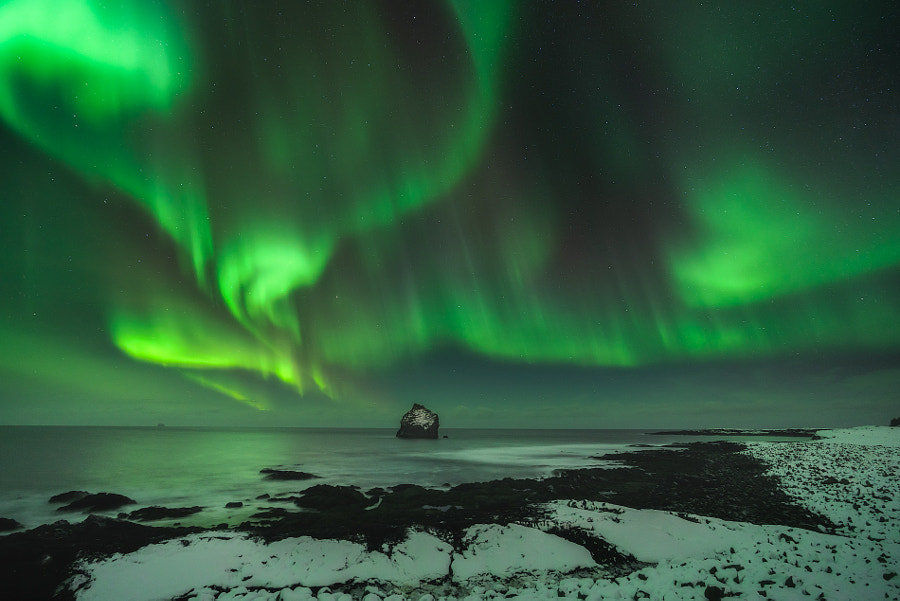landscape photography -Dance of the Northern Lights by Iurie Belegurschi on 500px.com