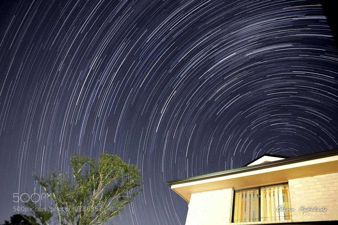 Photograph StarTrail-01 by Alvin Rebulado on 500px