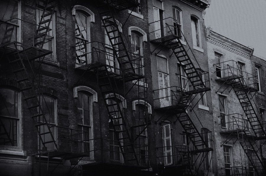 Fire Escapes in Old City