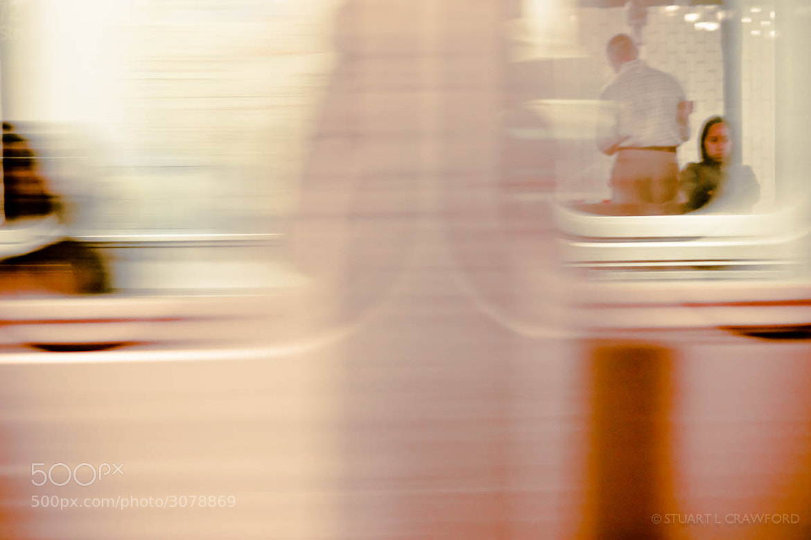 Photograph Blurred Train by Stuart Crawford on 500px