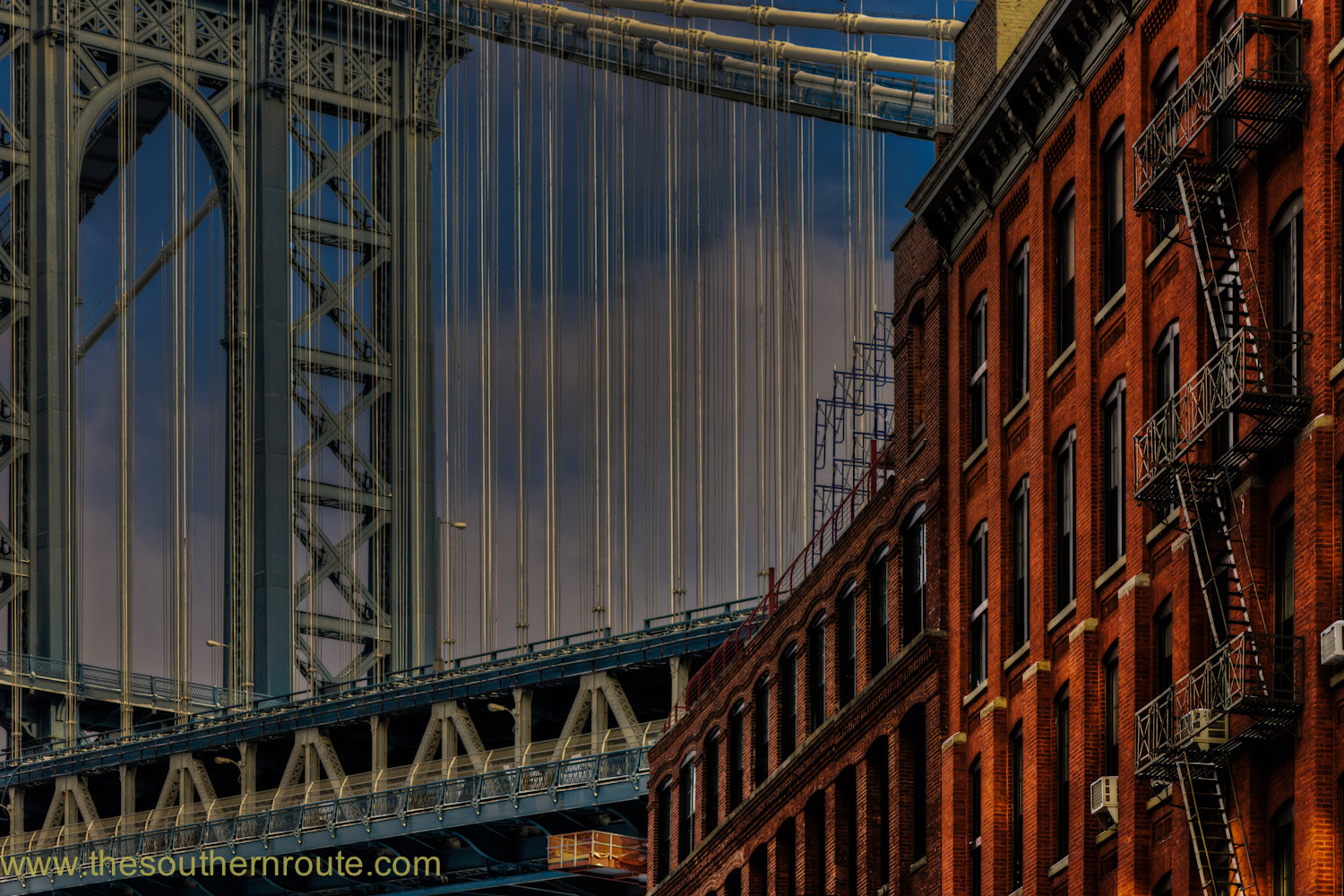 Photograph Red bricks on iron blue by regis boileau on 500px