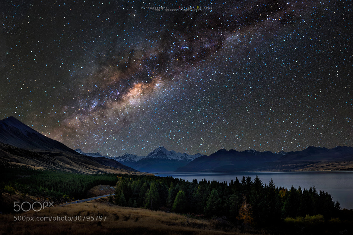 Photograph Dream to Mt. Cook by Anuparb Papapan on 500px