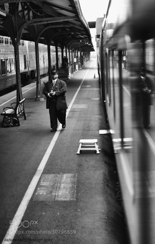 Photograph Railway Conductor, Mike by Tatum Wulff on 500px