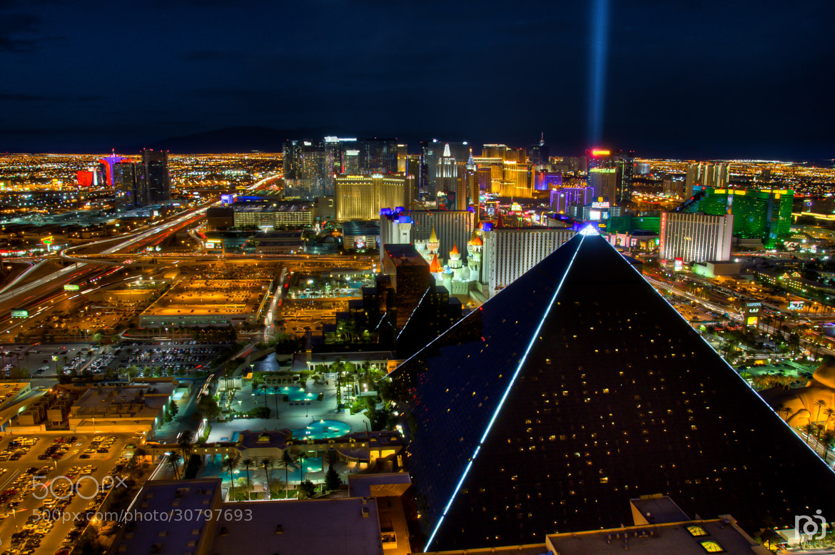 Photograph Luxor Light Beam by Nathan Jaffan on 500px