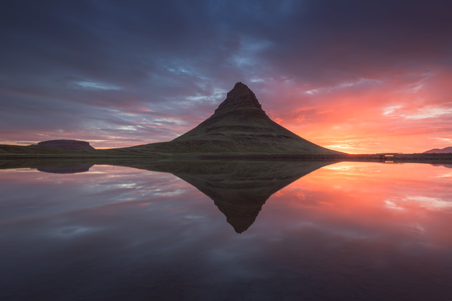 Reflection of Kirkjufell by Iurie Belegurschi on 500px.com