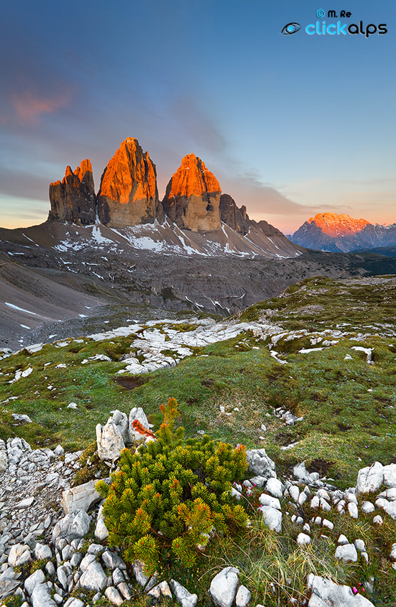 Photograph Sunrise - 3 Cime by Matteo Re on 500px