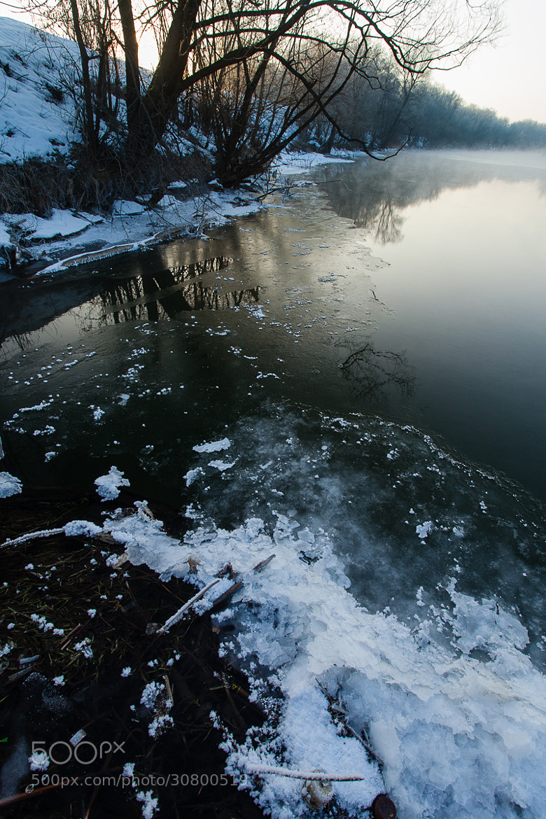 Photograph Tsna River at Winter Time by Denis Belyaev on 500px