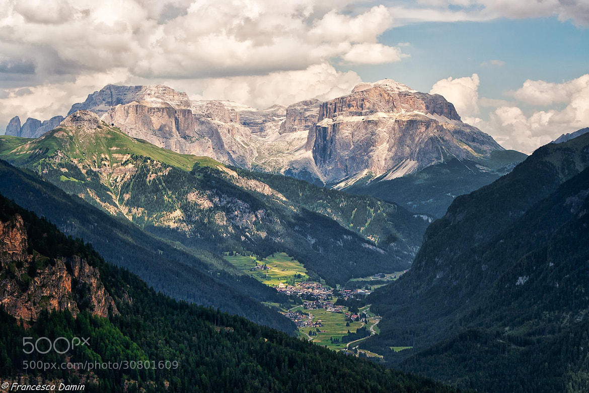 Photograph Sulla Val di Fassa by Francesco Damin on 500px