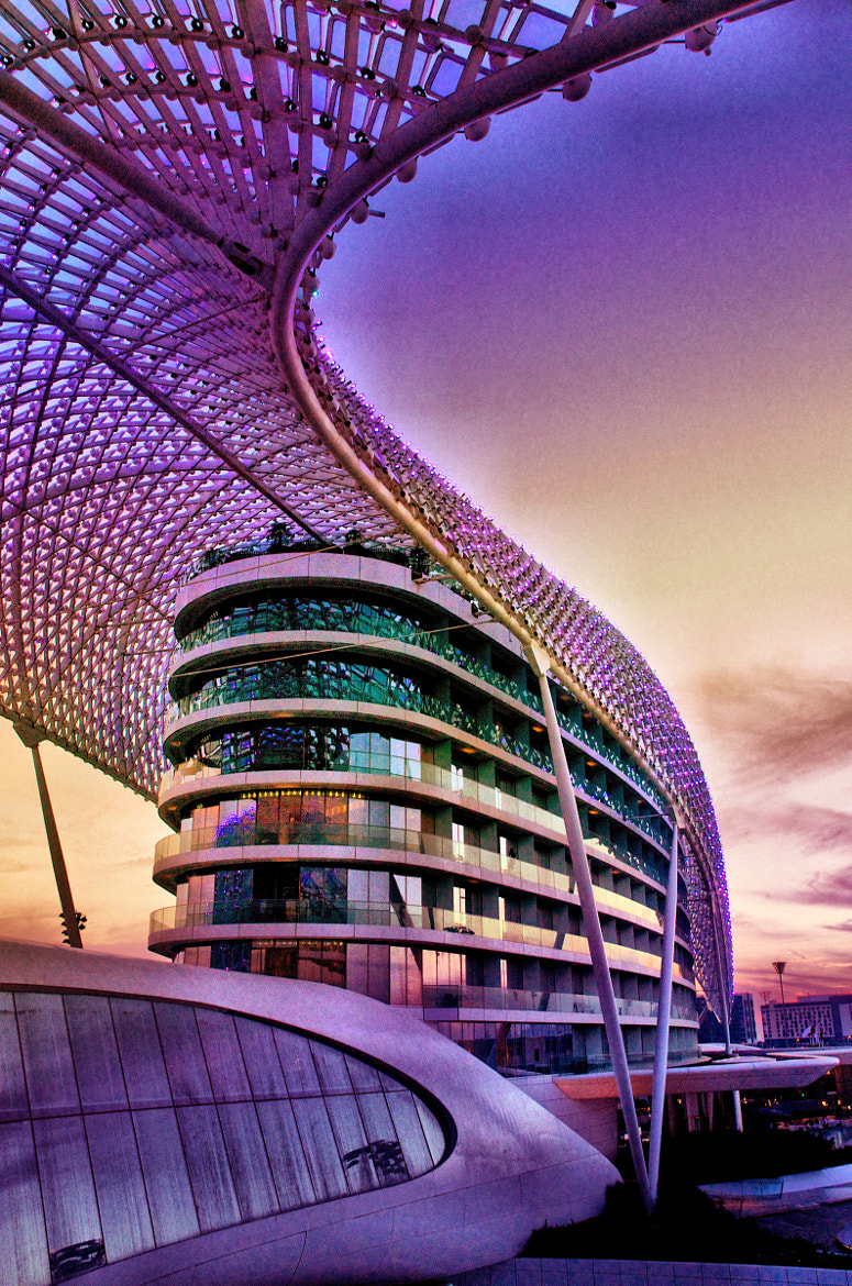 Photograph Yas Viceroy Hotel by Dan Dowe on 500px