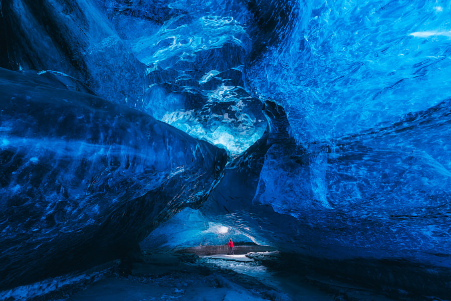 Blue Ice Cave by Iurie Belegurschi on 500px.com