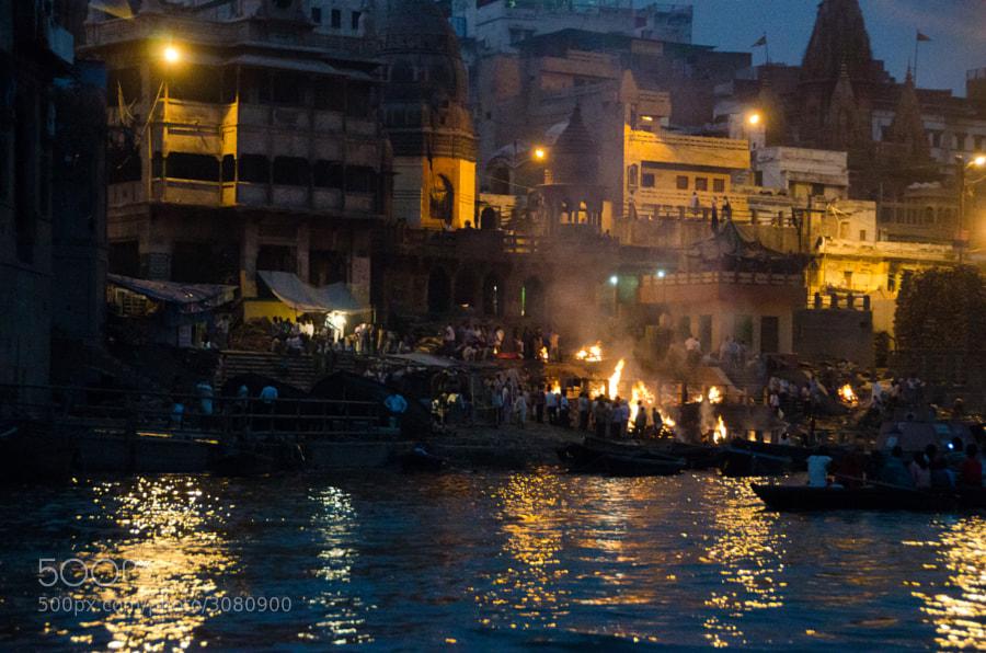 Crematorium Ghat in Varanasi by Alpertti Skyttae (alpertti)) on 500px.com
