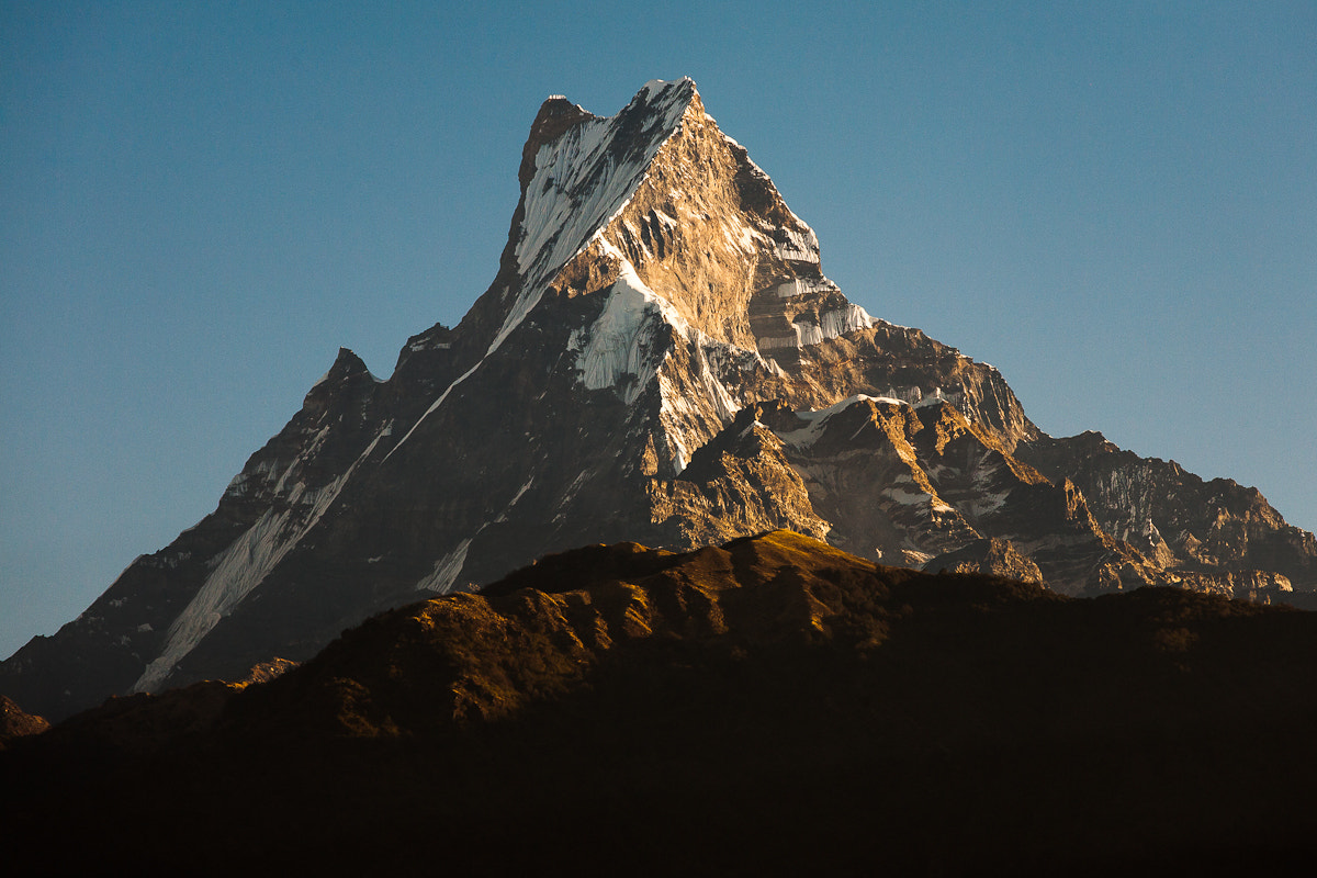 Photograph Machapuchare (Mt. Fishtail) by Steffen Walther on 500px