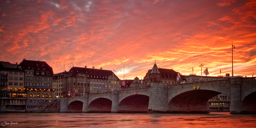 Photograph Red Basel by Jan Geerk on 500px