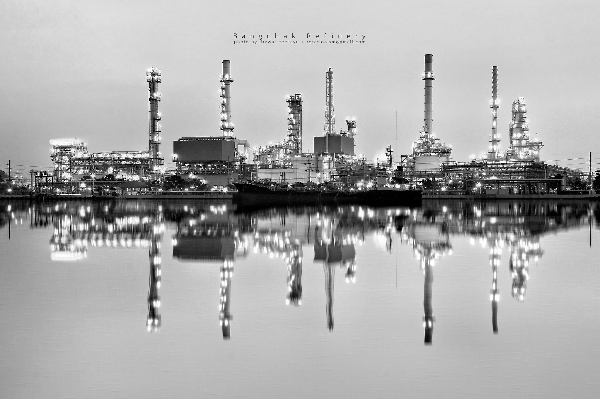 Photograph Refinery Reflection by Jirawas Teekayu on 500px