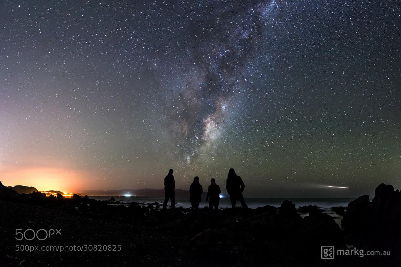 Photograph International Dark Sky Week 2013 - Wellington Photo Project - Red Rocks by Mark Gee on 500px