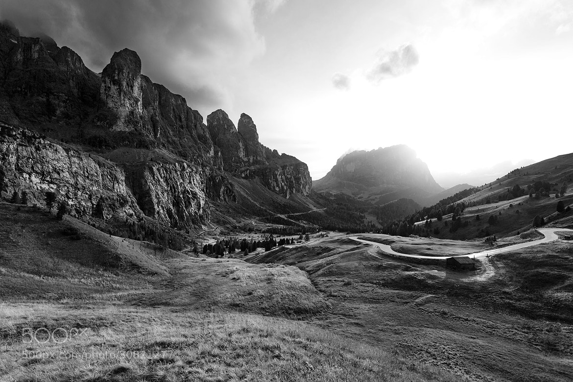Photograph Passo Gardena - B/W by Alessandro Bondesan on 500px